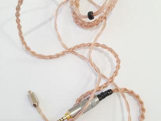 Hi-Fi Custom Cooper Earphone Balanced 2.5 Cable - EVO CL - 100$