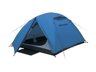 Палатки High Peak corturi turistice Kingston 3. 3 места, двухслойная,  быстрая установка и сборка.