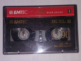 Кассета для видеокамеры   EMTEC HG 90