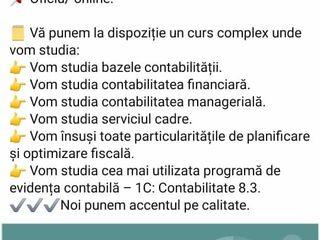 CURS: Contabilitatea (oficiu/ online) noiembrie 2020.