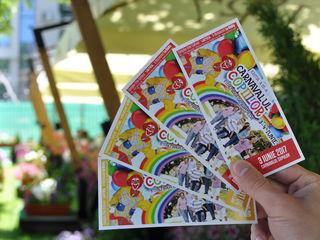 Vând 2 bilete la carnavalul copiilor de la Vatra