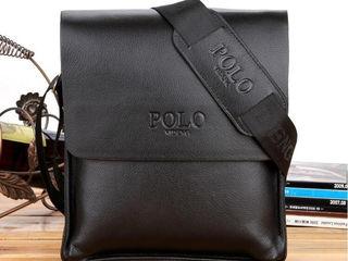 Стильная сумочка Polo + подарок кошелек-купюрник Polo