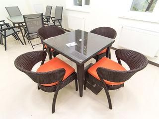 Set masa + 4 scaune pentru terasa. - 10% reducere