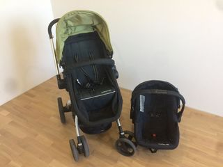 Carucior 3 in 1 + car seat, stare buna