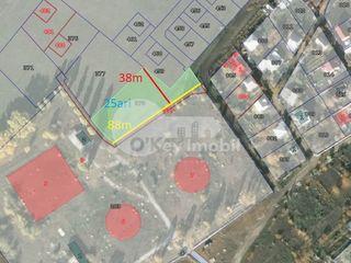 Teren cu destinație pentru construcții, 25 ari, Tohatin, 34000 €