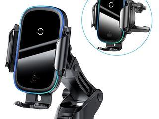 Incărcător fara fir qi wireless charger auto 15W 7.5W 10W 5W Xiaomi Baseus Nillkin Itian