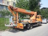 Автовышка от 12 до 30 метров аренда кишинёв autoturn servicii