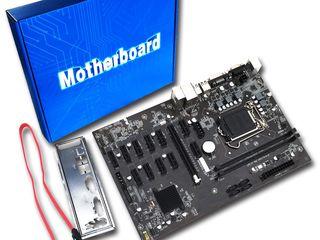 ID-170 12 PCI GPU B250 MINING EXPERT DDR4 Motherboard LGA 1155 USB3.0 SATA - Материнская плата