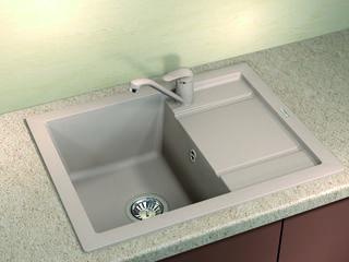 Раковина для кухни, Бренд: (Florentina), Модель (LIPSI-660). Напрямую от импортера. Гарантия