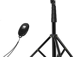 Tripod/Selfie stick pentru smartphone, go pro sau camere video