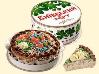 Киевский торт Roshen из Киева на заказ, с конвейера к вам в руки.