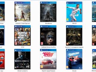 Игры:PS4, Xbox one и Аксессуары