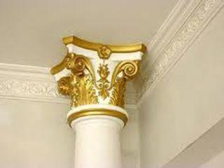 Lucrari din gips la comanda coloane arcuri carnizuri piliastre