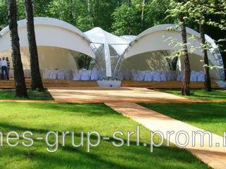 навесы, шатры, маркизы, перголы для компаний занимающихся профессиональным обслуживанием торжеств