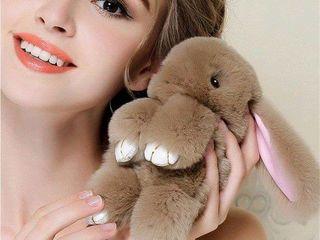 Зайчики,брелочки на любой вкус,лисички Новая коллекция.Поспеши порадовать милым и пушистым подарком.