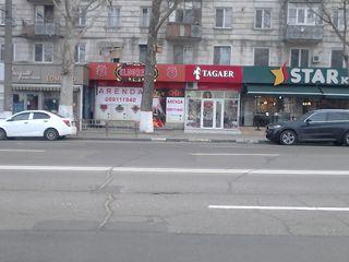 Новая цена!!! 1500 Евро/мес Аренда, chirie, 75 кв.м. arenda, oficiu, comerţ. botanica bd.Decebal 61,