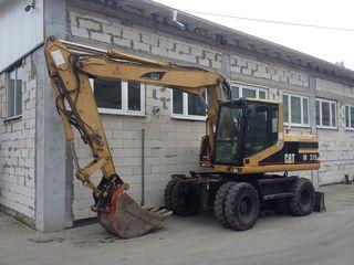 prestam servicii cu excavator 16T si buldoexcavator 8.5T prin transfer cu tva