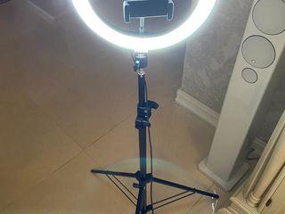 Профессиональная Кольцевая LED лампа Pro Light