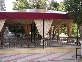 тентовый навес для летнего кафе, укрытие для летней террасы, оборудование уличного ресторана