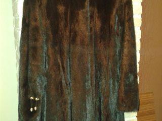 Шуба норковая с капюшоном-950€