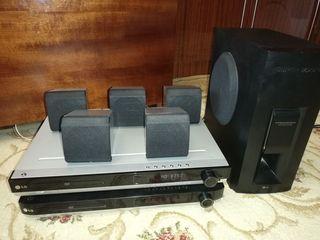 LG Home Boxe 5.1+amplificator