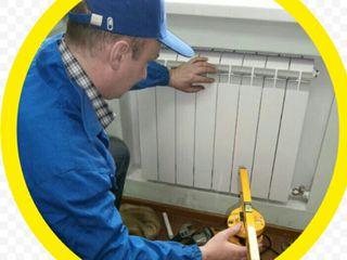 Качественный монтаж систем отопления.подключение котлов,бойлеров!радиаторы 24.