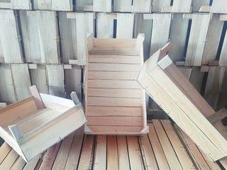 Producem lăzi din lemn/ производим деревянные ящики