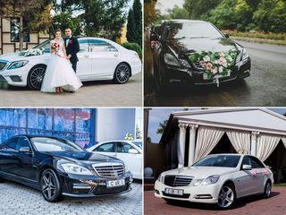 rentmercedes.md - De la 10 €/ora! Chirie/аренда Mercedes-Benz albe/negre (белые/черные)