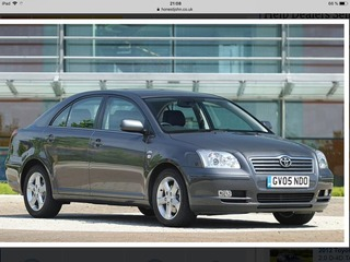 Запчасти Avensis 2004 2.0 d4d