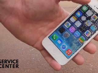 Iphone 5/5s  Ecranul sparta – vino la noi indata
