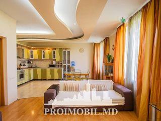Botanica! bloc nou, 3 camere cu living, euroreparație, autonomă! 140 mp!