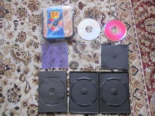 новые dvd -диски R 4.7 гб  - 6шт+ RW  -3 шт по 5 л коробки для CD -16 шт+ двд -дисков 14 шт по 5 л а