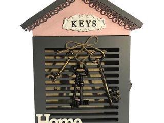 Ключницы декоративные из дерева