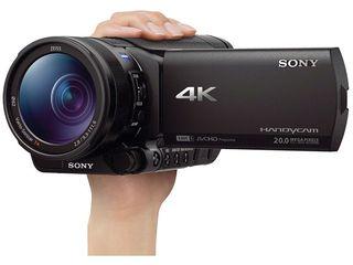 Sony fdr ax100 4k Carl zeiss