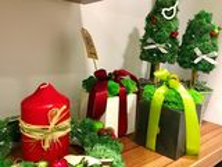 Новогодние подарки и сувениры из стабилизированного мха!  Cadouri si suvenire din muschi stabilizati