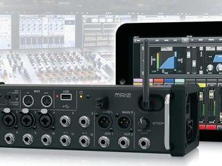 Цифровые микшерные пульты для музыкантов. Behringer, Midas, Soundcraft, RCF, Mackie.
