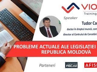 Probleme actuale ale legislației muncii în Republica Moldova