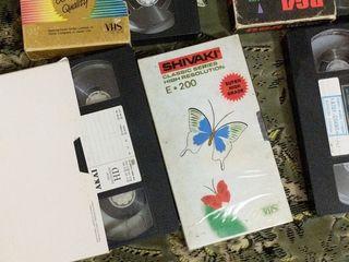 Видео магнитофон с кассетами