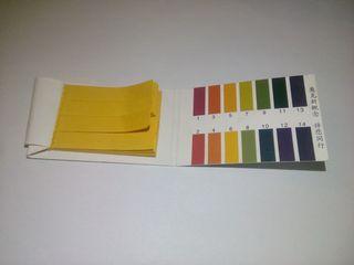 Лакмусовая бумага ph test