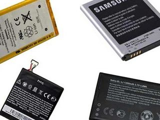Оригинальные аккумуляторы, батареи для телефонов и ноутбуков