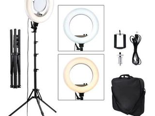 Lampa selfie profesionala pentru foto, makiaj, genute, unghii...