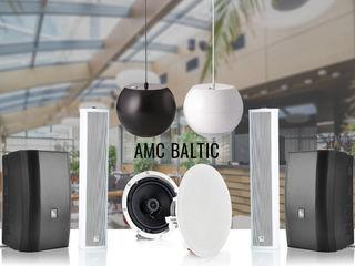 Sisteme acustice AMC pentru baruri, restaurante, centre comerciale, magazine