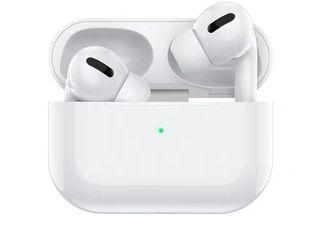 Casti Hoco DES08 Original Series TWS Airpods Pro [White] + Husa Cadou - Compatibile cu orice Telefon