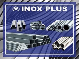 Materie primă inox tablă/țevi/profiluri/fitinguri/metize