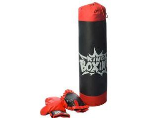 Боксёрский набор King Boxing Детская боксерская груша и перчатки