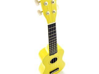 Ukulele Harley Benton UK-12 Yellow. Livrare în toată Moldova, plata la primire.