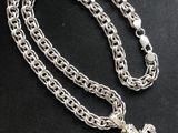 Цепочка серебряная с крестиком 925 - 2500 mdl