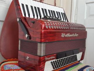 Новый немецкий аккордеон Weltmeister Caprice 80 bass