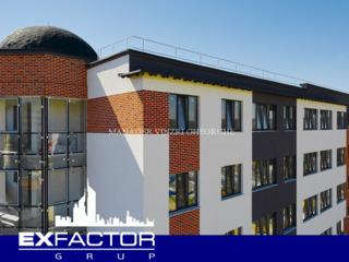 Exfactor Grup - Buiucani 2 camere 83 m2 et. 3 de la 580 € m2 prețul 48.150 € cu prima rată 14.450 €