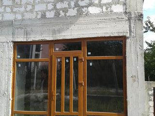 Ciorescu, casa in constructie 70% pe teren de 7.5 ari, calitativ, amplasare linga traseu Balcani